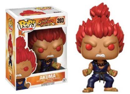 POP! Games: Street Fighter - Akuma (#203) - superchan.de