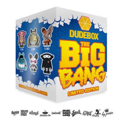 DUDEBOX The Big Bang Mini Serie (Blind Box) - superchan.de