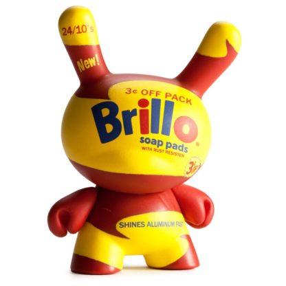 Dunny Warhol S1 - Brillo (gelb) - superchan.de