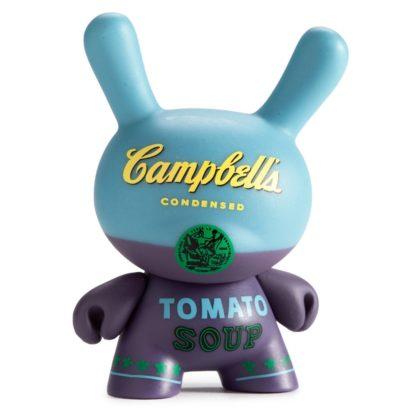 Dunny Warhol S1 - Campbells (blue) - superchan.de