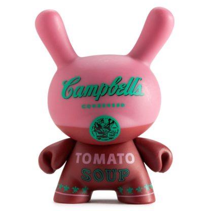 Dunny Warhol S1 - Campbells (rot) - superchan.de