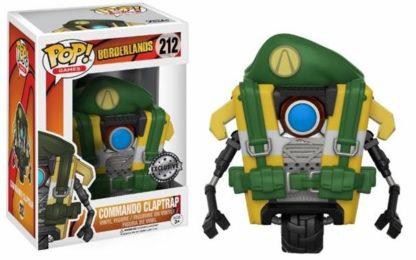 POP! Games: Borderlands - Commando Claptrap (#212) -Exclusive- - superchan.de