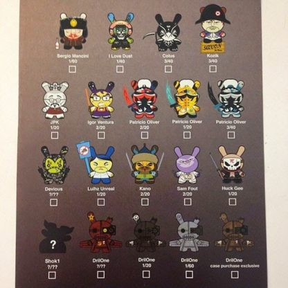 Dunny Art of War Mini Series (Blind Box) - superchan.de