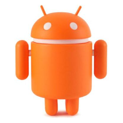 Android S5 - Plain (orange) - superchan.de