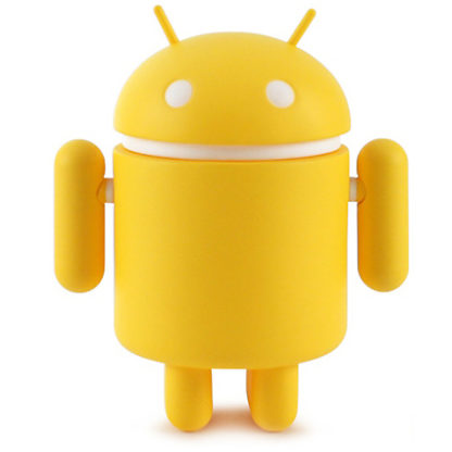 Android S4 - Plain (yellow) - superchan.de