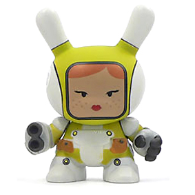 Dunny Post-Apocalypse - Heavy Trooper (grün) - superchan.de