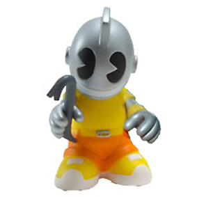 Kidrobot Bots - KidVandal (gelb) - superchan.de
