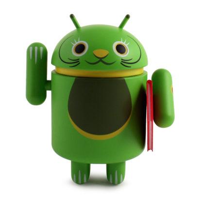 Android Lucky Cat (grün) - superchan.de