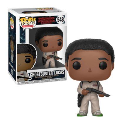 POP! TV: Stranger Things - Ghostbuster Lucas (#548) - superchan.de