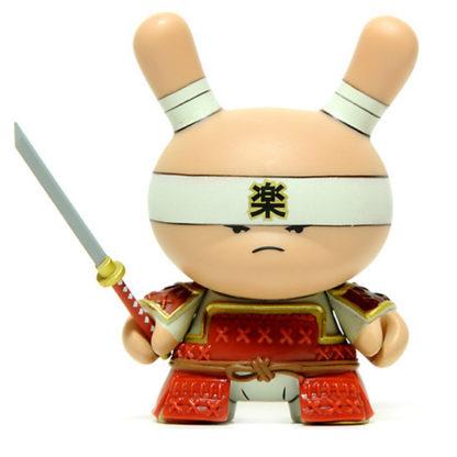 Dunny Gold Life - Very Serious Samurai (red) - superchan.de