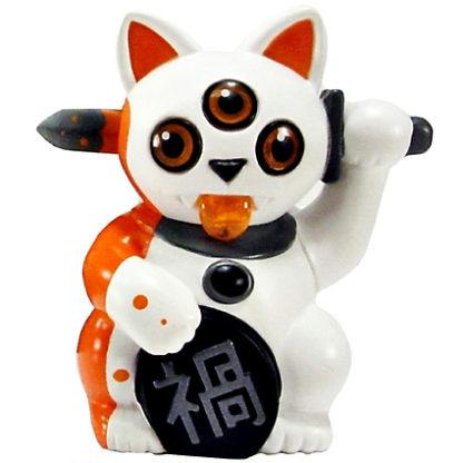 Misfortune Cat S2 - White & Orange - superchan.de