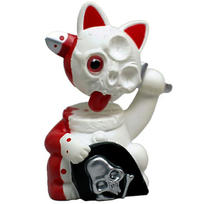 Misfortune Cat S2 - White & Red (decapitated) CHASE - superchan.de