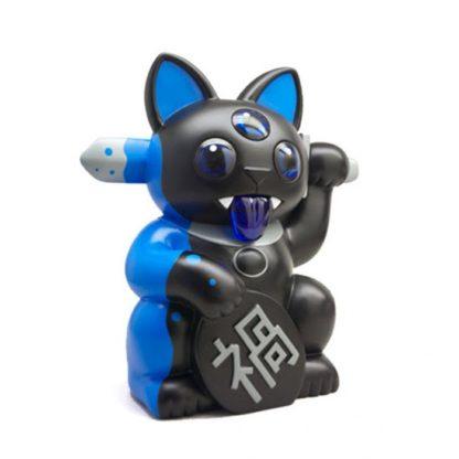 "8"" Misfortune Cat (schwarz & blau) by FERG - superchan.de"