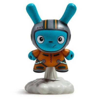 "Dunny ""DTA"" Designer Toy Awards - Blast Off (orange) - superchan.de"