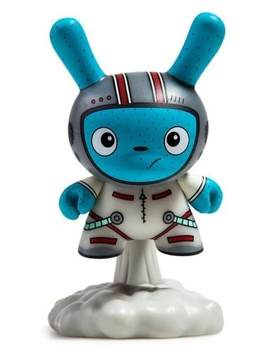 "Dunny ""DTA"" Designer Toy Awards - Blast Off (white) - superchan.de"