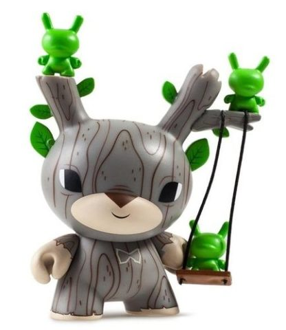 """Dunny """"DTA"""" Designer Toy Awards - Autumn Stag (green) CHASE - superchan.de"""