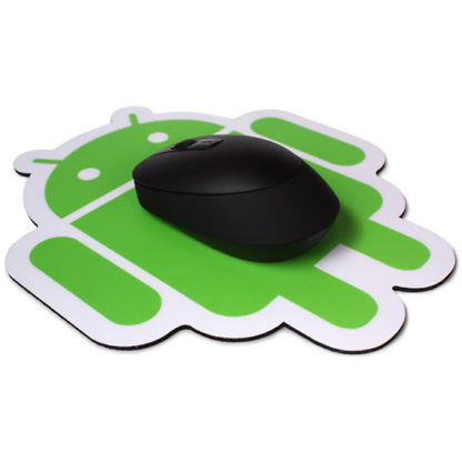 Android Foundry - Green on White (Mousepad) - superchan.de