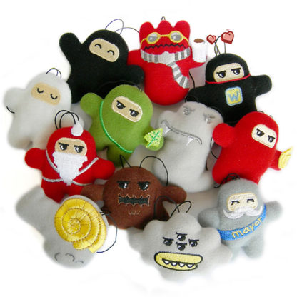 Shawnimals - Ninjatown Micro Plush Series 2 (Blind Box) - superchan.de