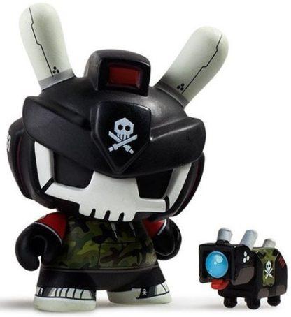"""Dunny """"DTA"""" Designer Toy Awards - Quiccs (black) - superchan.de"""