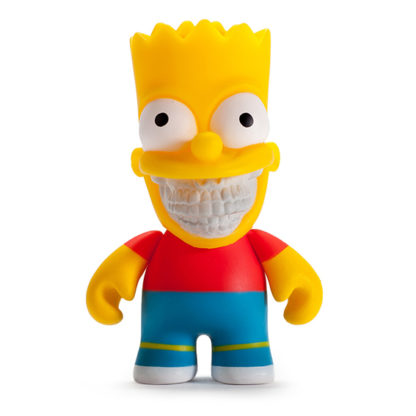 Kidrobot The Simpsons - Bart Grin (by Ron English) - superchan.de