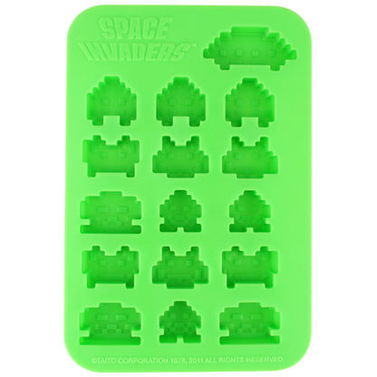 Space Invaders (Eiswürfelform) - superchan.de