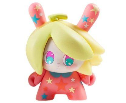 "Dunny ""DTA"" Designer Toy Awards - Banana Mango (pink) - superchan.de"
