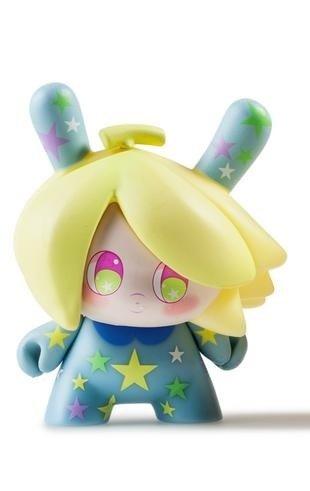 """Dunny """"DTA"""" Designer Toy Awards - Banana Mango (blau) - superchan.de"""