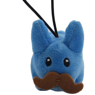 KR x Kozik: Cute & Crazy - Mini Plush Labbits (blau)
