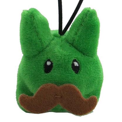 KR x Kozik: Cute & Crazy - Mini Plush Labbits (grün)