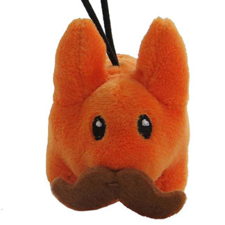 KR x Kozik: Cute & Crazy - Mini Plush Labbits (orange)