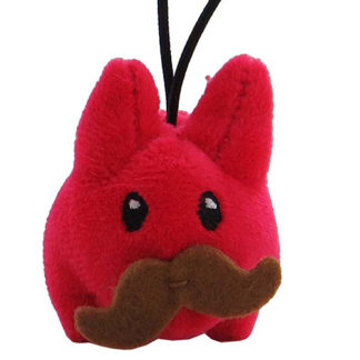 KR x Kozik: Cute & Crazy - Mini Plush Labbits (rot)