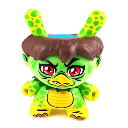 Dunny City Cryptid - Kappa (angry) CHASE - superchan.de