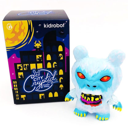 Dunny City Cryptid - Sasquatch (white) CHASE - superchan.de