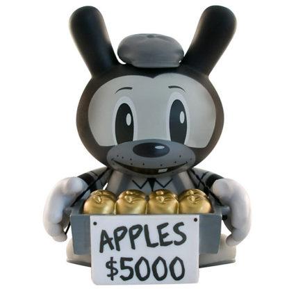 Dunny 2010 - Frank Kozik (golden Apples) CHASE - superchan.de