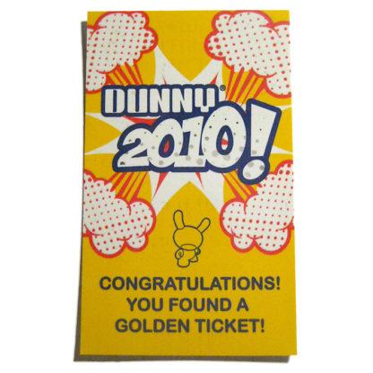 Dunny 2010 - Sket One (Mayo) GOLDEN TICKET - superchan.de