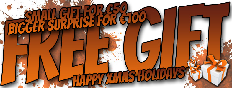 Small Xmas gift for €50 or bigger surprise for €100!