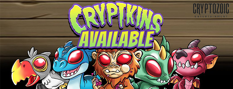 Cryptozoic Cryptkins Mini Series available!
