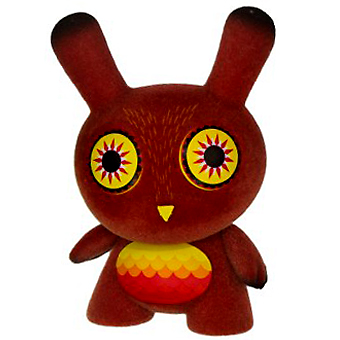 Dunny 2013 - Nathan Jurevicius (red) CHASE - superchan.de