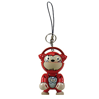 Trexi (Keychain) - Voodoo Kong (burning) - superchan.de