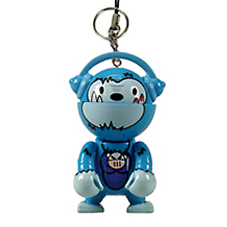 Trexi (Keychain) - Voodoo Kong (frosted) - superchan.de