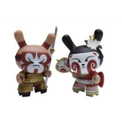 Dunny Gold Life - Kabuki & Kitsune 2-Pack (rot) - superchan.de