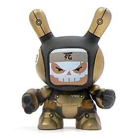 Dunny Post-Apocalypse - Heavy Trooper (gold) - superchan.de