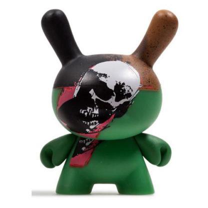 Dunny Warhol S2 - Skull - superchan.de