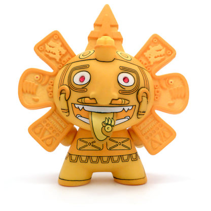 Dunny Azteca S2 - The Beast Brothers (gold) CHASE - superchan.de