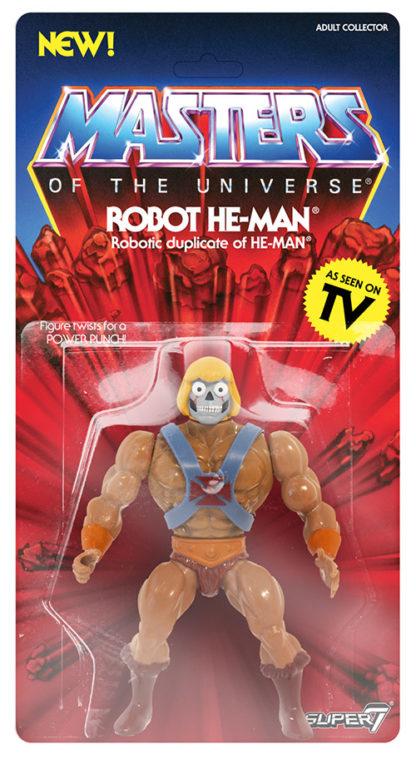 Super 7: Masters of the Universe (Vintage Collection) - Robot He-Man - superchan.de