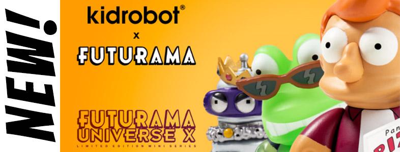 Futurama: Universe X Series & rare Futurama Series 1 Restock