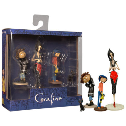 NECA: Coraline (4er Set) - superchan.de