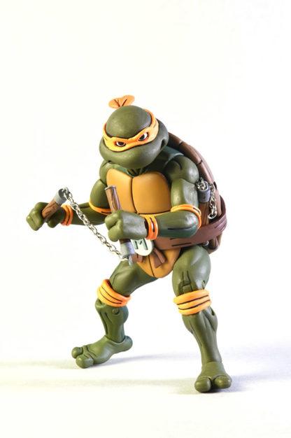 NECA: TMNT - Michelangelo vs Foot Soldier (2-Pack) - superchan.de