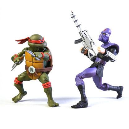 NECA: TMNT - Raphael vs Foot Soldier (2-Pack) - superchan.de