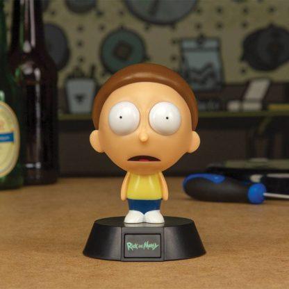 Rick & Morty 3D Icon Lampe - Morty - superchan.de